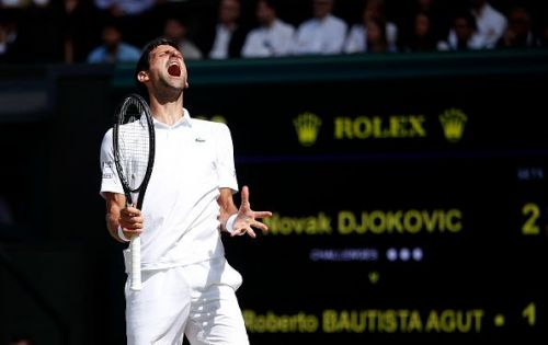Top-seed Novak Djokovic will be looking to defend his title in Sunday's final.