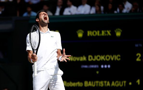 Top-seed Novak Djokovic will be looking to defend his title in Sunday