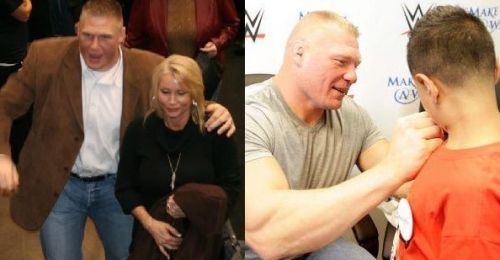 Lesnar, a wholesome guy in real life