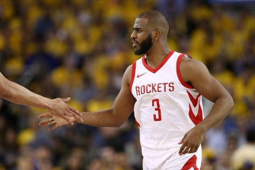 Chris Paul spent two seasons with the Houston Rockets
