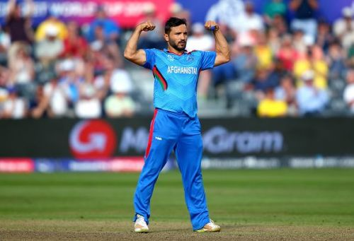 Unfortunately, Gulbadin Naib's performances couldn't be as powerful as his biceps