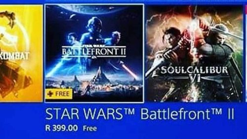 Star Wars Battlefront 2 listed as free