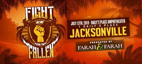 AEW Fight for the Fallen poster