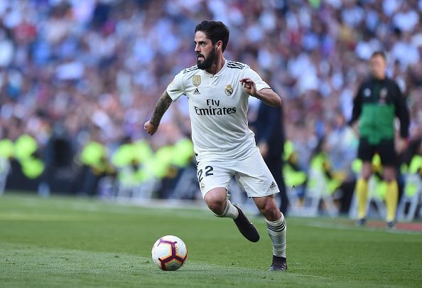 Isco is being linked with a move away from Real Madrid