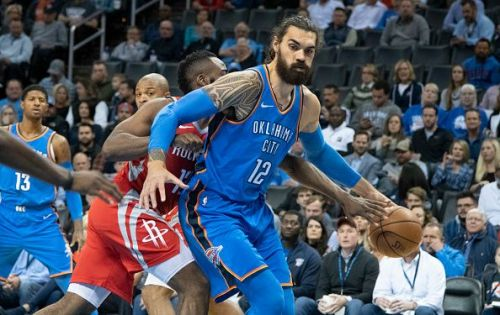 Steven Adams has been backed to leave the Oklahoma City Thunder this month