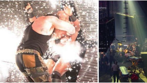 Strowman vs. Lashley
