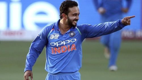 Kedar Jadhav was hardly used as a bowler during the group stage of India's 2019 World Cup campaign
