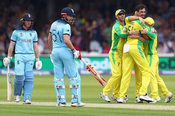 England had lost to Australia in the group stage ICC Cricket World Cup 2019