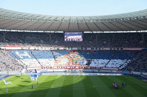 The Olympiastadion - Home of Hertha BSC