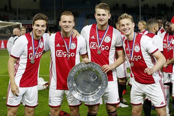 De Ligt captained Ajax to the Eredivisie