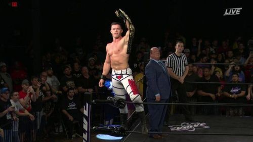 Austin Theory believes he's destined for greatness and will get a shot in NXT later this year