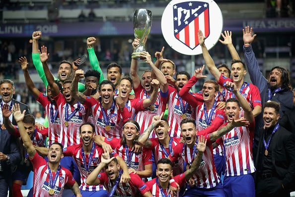 Real Madrid v Atletico Madrid - UEFA Super Cup