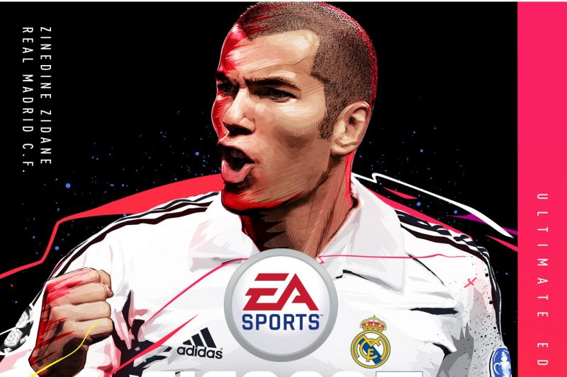 Zidane, who is the cover star of the Ultimate Edition, has been added to the game