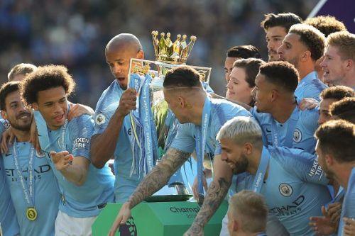 Premier League 2018-19 Champions Manchester City