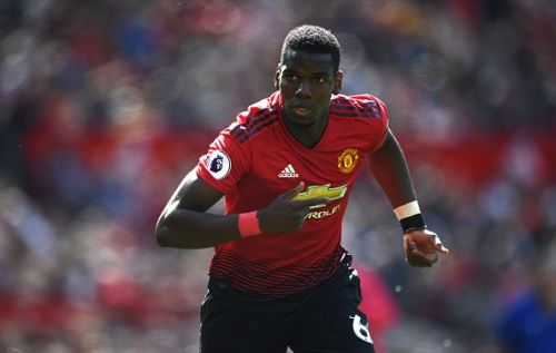 Juventus and Real Madrid have chased Manchester United's Paul Pogba