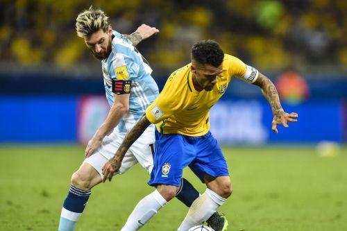 Dani Alves was in terrific form for Brazil against Argentina