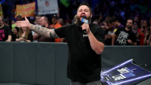Kevin Owens stole the show Tuesday night on SmackDown Live