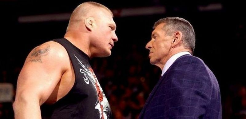 Vince and Lesnar