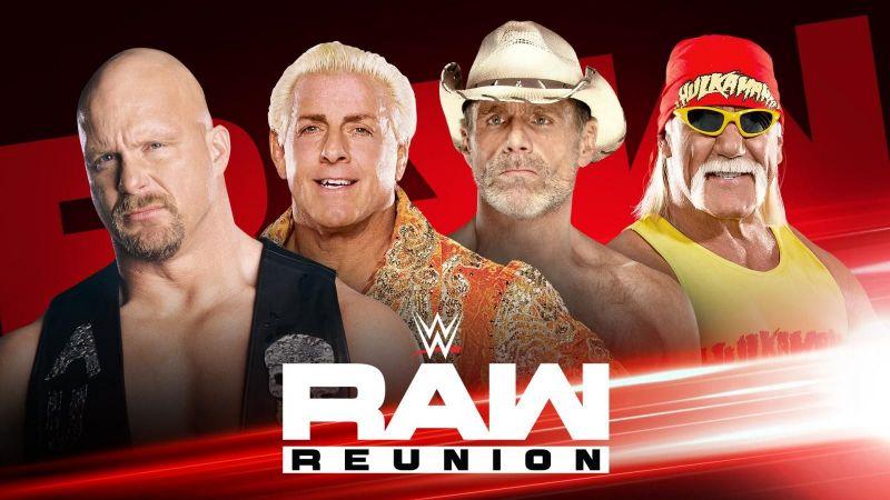 WWE रॉ रीयूनियन में कई सारे लैजेंड नजर आने वाले हैं
