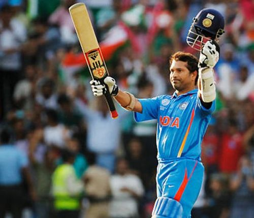 Sachin Tendulkar was in sublime form in the 2011 World Cup, scoring 482 runs