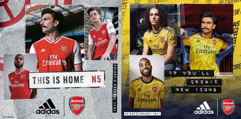 outlet store 6caf8 07614 adidas reinvigorates Gunners pride with retro Arsenal home ...