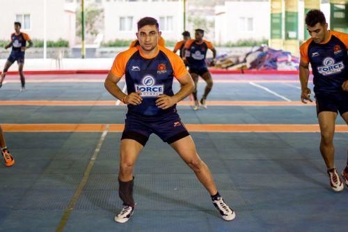 Nitin Tomar is all set to play for Puneri Paltan in VIVO Pro Kabaddi League season 7