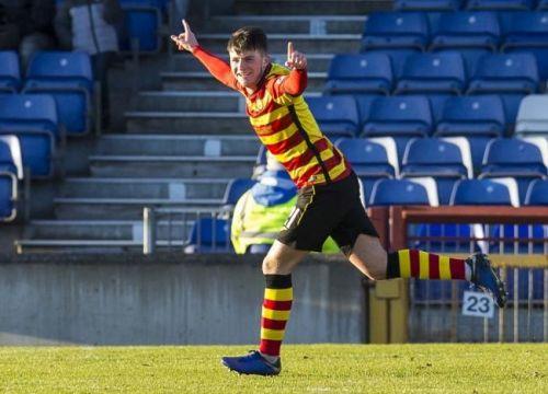 Teenage sensation Fitzpatrick impressed in Scotland last season
