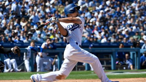 Corey Seager Los Angeles Dodgers 03282019