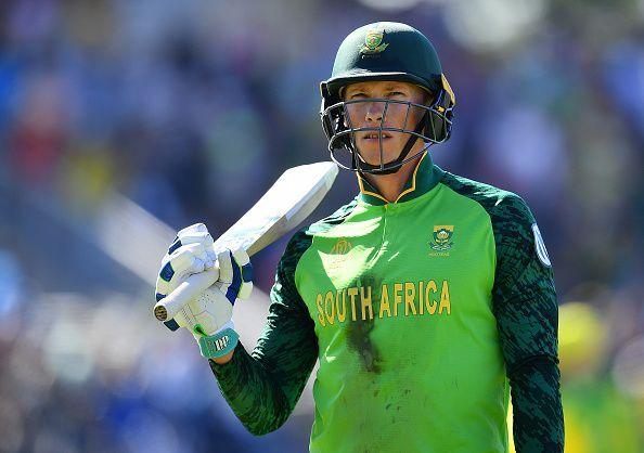 Rassie van der Dussen averages 73.78 in ODIs