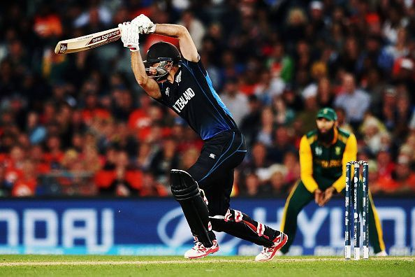 Grant Elliott was the hero of the 2015 World Cup