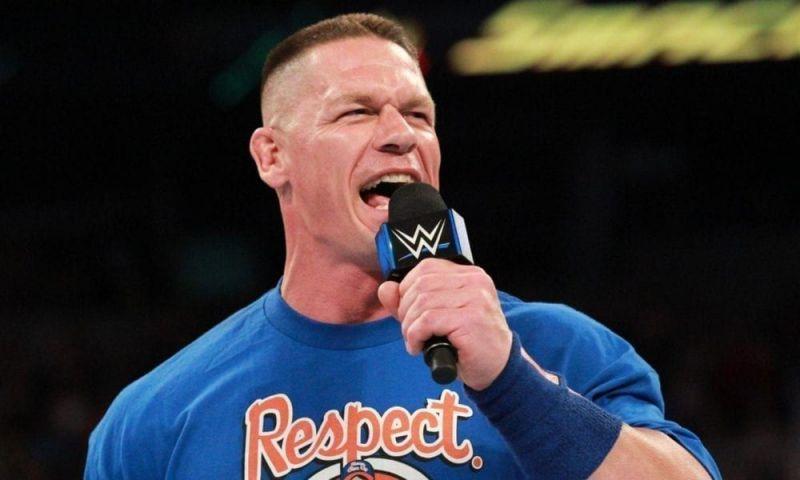 Wwe News John Cena Reveals An All New Look