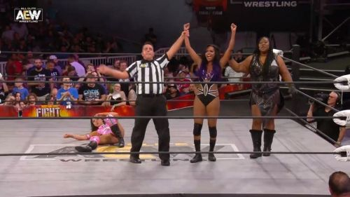 Brandi Rhodes didn't get the dream debut that she wanted in AEW