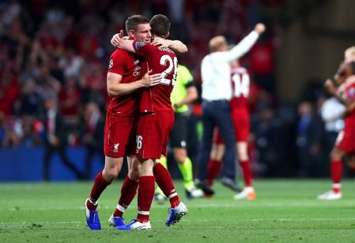 James Milner and Andy Robertson played a crucial role in Liverpool's European triumph.