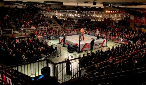 MLW live action / Photo courtesy of MLW