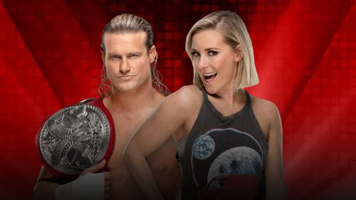 Dolph Ziggler and Renee Young