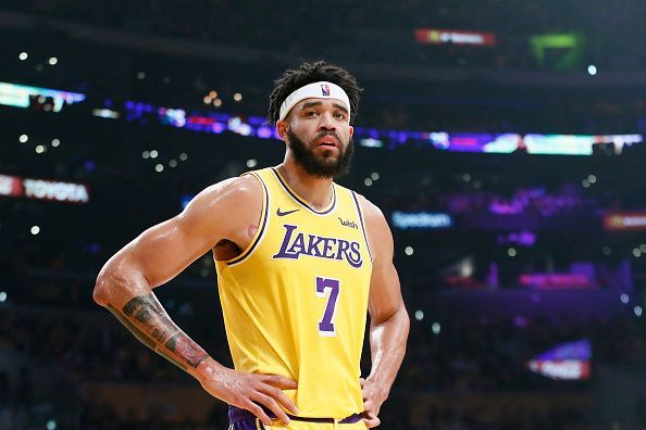 JaVale McGee has spent the past 12 months with the Los Angeles Lakers