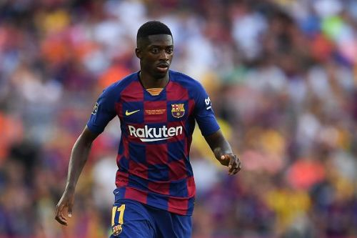 Dembele starred in all five pre-season fixtures