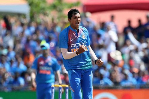 Navdeep Saini first Indian to bowl the 20th over as maiden