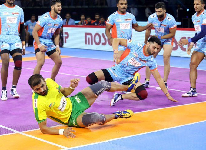 Bengal Warriors destroy Tamil Thalaivas in a fervid battle with the score 35-26
