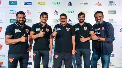 होम लेग के लिए तैयार दबंग दिल्ली की टीम