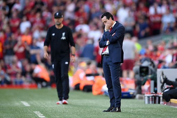 Klopp and Emery produced an intense tactical battle