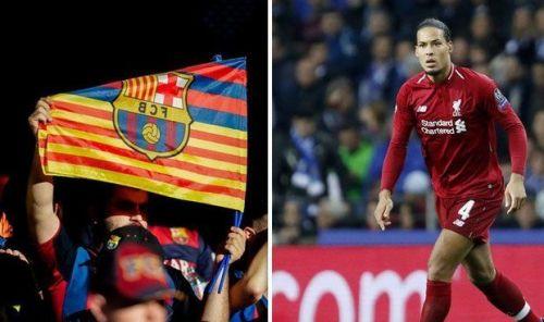 Van Dijk was a massive fan of the Catalan giants