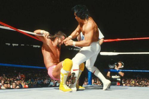 Randy Savage vs Ricky Steamboat at WrestleMania III