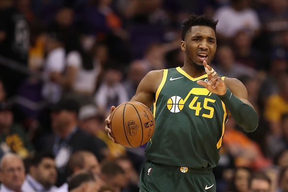 Donovan Mitchell was still available on the board when the Pistons