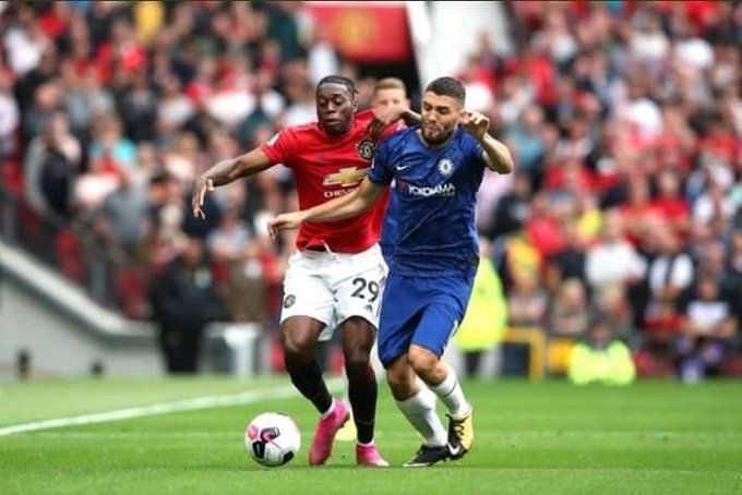 Aaron Wan-Bissaka was a pillar at right-back for Man United