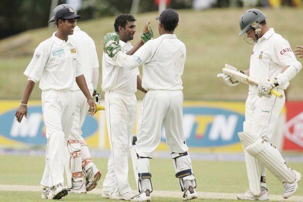 First Test South Africa v Sri Lanka - Day One