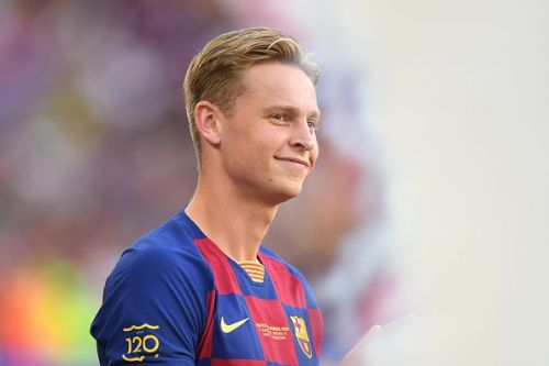 Frenkie de Jong had another assured outing for the Catalans