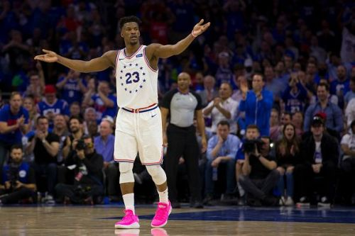 Jimmy Butler left a title-contending Sixers side to join the Heat