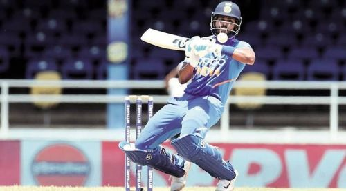 Shreyas Iyer has announced his arrival in style