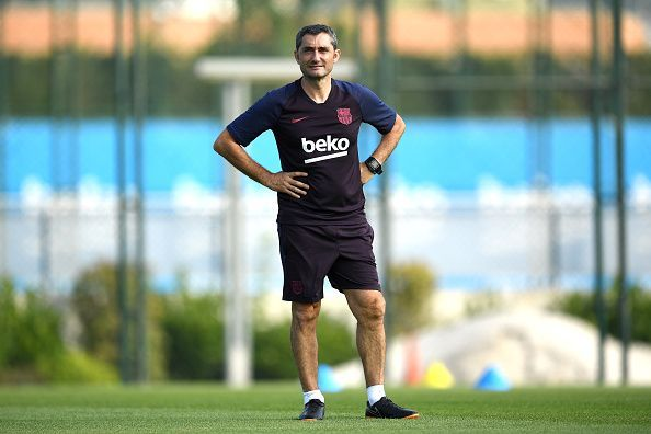 Valverde is set to remain at the Barcelona helm despite initial reports